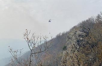 Площадь лесного пожара в Туапсинском районе увеличилась до 11,7 га