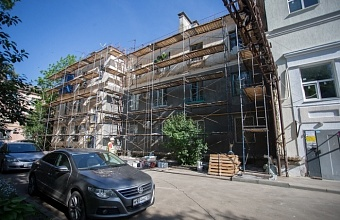 В Краснодаре с начала года отремонтировали 180 многоквартирных домов