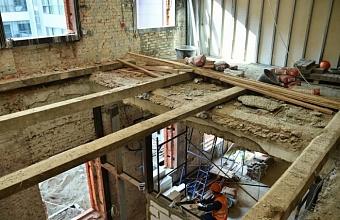 Реконструкцию Театра Защитника Отечества в Краснодаре завершат до конца года