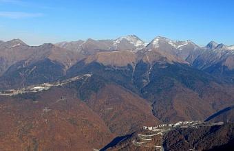В Сочи туристы заблудились при спуске с горы Коготь