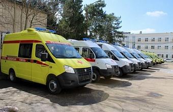 Более 200 млн рублей на покупку 60 машин скорой помощи выделили Краснодарскому краю