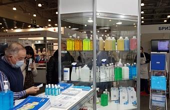 Предприятия Кубани представили продукцию на площадке CleanExpo Moscow