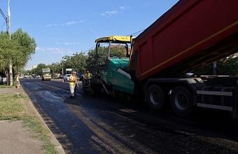 С начала года в Краснодаре отремонтировали почти 86 км дорог