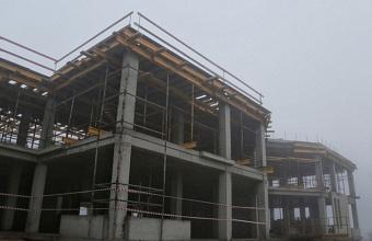 Строительство корпуса детсада завершается в поселке Знаменском Краснодара