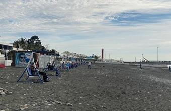 В Сочи откроют около 20 зимних пляжей