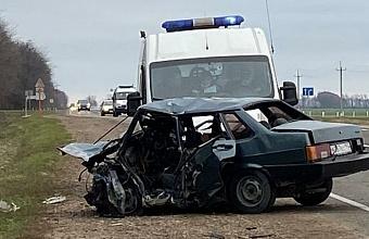 На Кубани в ДТП на встречке погибли пять человек