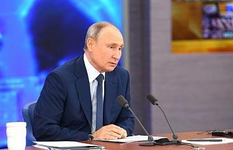 Путин: в России показатель бедности планируется снизить в два раза