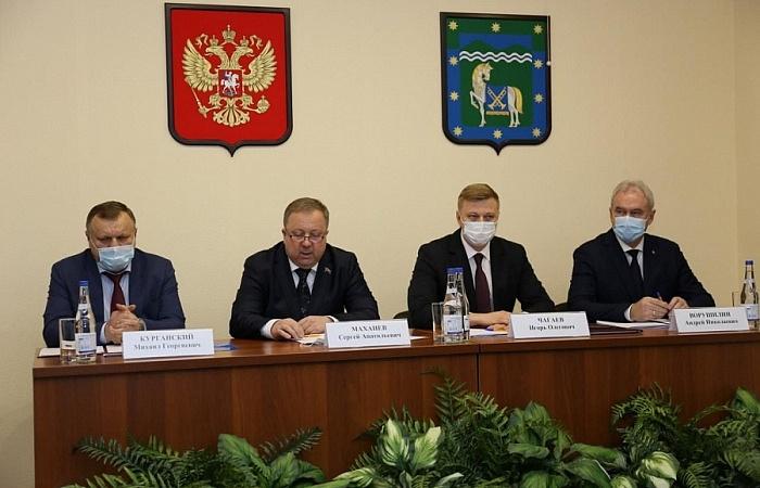 В должность главы Курганинского района вступил Андрей Ворушилин