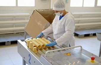 Экспорт мороженого из Краснодарского края в 2020 г. вырос на 20%