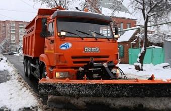 В Краснодаре городские службы находятся в режиме повышенной готовности из-за непогоды