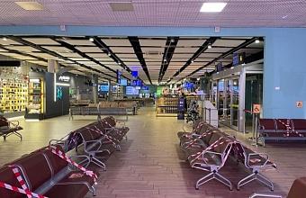 Аэропорт Краснодара возобновил работу после непогоды