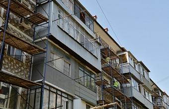 На Кубани планируют отремонтировать около 800 многоквартирных домов
