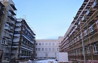 В Краснодаре школу в пос. Российском планируют достроить в первом полугодии 2021 г.