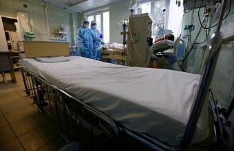 На Кубани свободно более 35% коечного фонда для пациентов с COVID-19