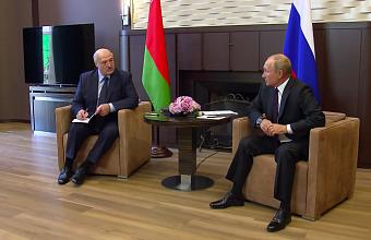 В Сочи Путин и Лукашенко обсудят сотрудничество двух стран и международные вопросы
