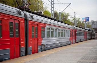 На Кубани временно изменится расписание движения пригородных поездов