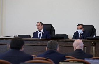 Депутаты ЗСК рассмотрели изменения в Устав Краснодарского края