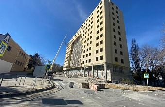 Многоэтажный самострой в Анапе снесут за два месяца