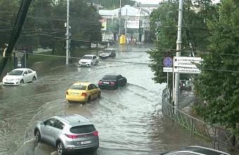 Автоматический гидрокомплекс контролирует уровень воды в Кубани на случай ЧС