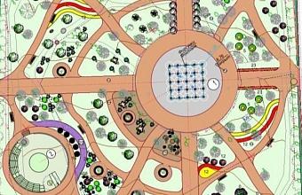 В Новороссийске реконструируют сквер им. Чайковского
