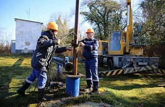 В Геленджике обследуют 35 скважин Дивноморского водозабора
