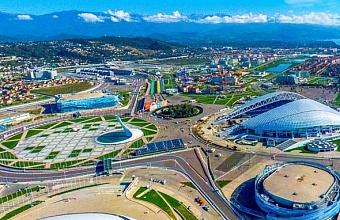 Олимпийский парк в Сочи стал лидером по посещаемости туристами на Кубани