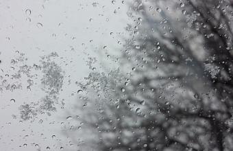 На выходных на Кубани снова прогнозируют мокрый снег