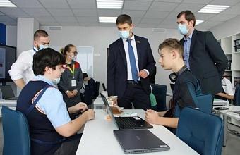 Депутат ЗСК посетил детский технопарк «Кванториум»