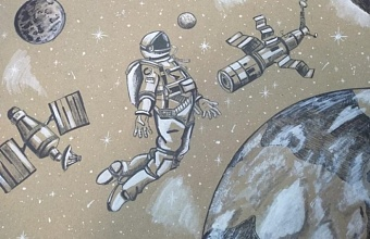В Краснодаре ко Дню Космонавтики откроется выставка детских рисунков