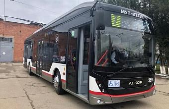 Первый троллейбус собрали в Краснодаре