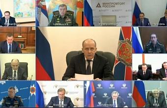 Кондратьев принял участие в заседании антитеррористического комитета