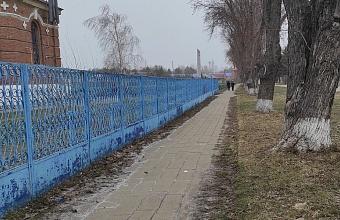 В Усть-Лабинском районе в станице Воронежской благоустроят центральную улицу