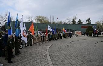 В Краснодаре дали старт акции «Вахта Памяти»