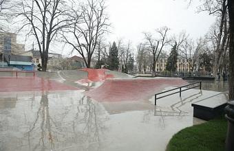 В Краснодаре открыли новый скейт-парк в сквере Дружбы народов