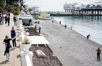 В Сочи первые пляжи откроют 1 мая