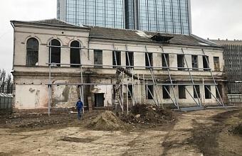 В Краснодаре началась реконструкция здания «Женского городского училища»