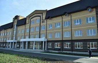 Акушерско-гинекологический корпус в Кореновске откроется в ноябре 2021 года