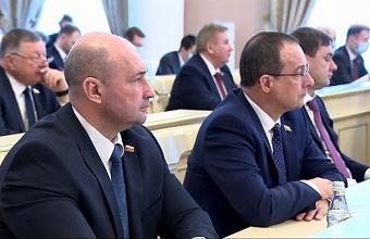 Юрий Бурлачко принял участие в заседании Совета законодателей России