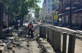 Открытие одностороннего движения на ул. Чапаева в Краснодаре отложили на две недели