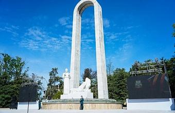 В Сочи после реконструкции открыли мемориал «Подвиг во имя жизни», посвященный военным врачам