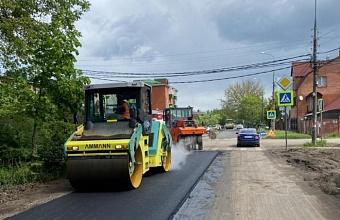К концу мая в Краснодаре планируют завершить ремонтные работы по ул. Сочинской