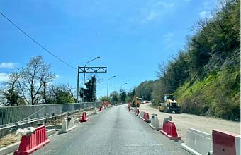 В Сочи снимут реверсивное движение на федеральной трассе