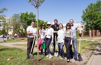 Cбербанк совместно с партнерами принял участие  в акции «Сад Памяти»
