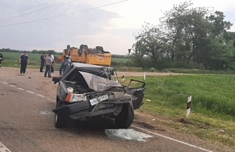 СК проводит проверку по факту ДТП со школьным автобусом на Кубани