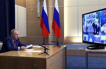Владимир Путин встретился с общественниками-победителями предварительного голосования «Единой России»