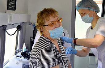 Более 700 тыс. кубанских жителей сделали прививку от коронавируса