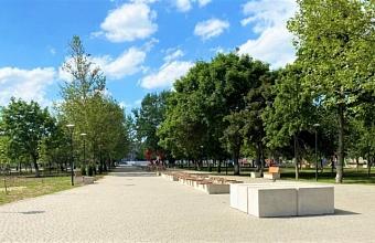 В Гулькевичском районе благоустроили территорию площадью 6 тыс. кв. метров