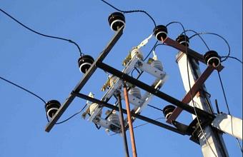 В пригороде Краснодара произошло аварийное отключение электричества