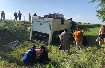 Количество пострадавших в ДТП с автобусом на Кубани увеличилось до 14