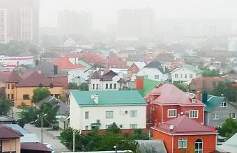 Пыльная буря из Ставрополя дошла до Краснодара